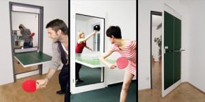 ping pong porta