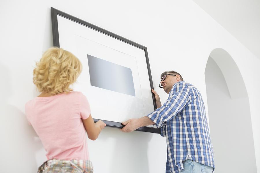 5 trucchi per sapere come appendere i quadri di casa tua!