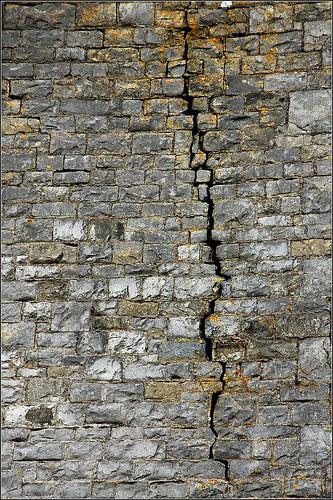 Come eliminare le crepe dai muri?