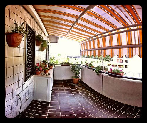 trasformare il balcone in una terrazza