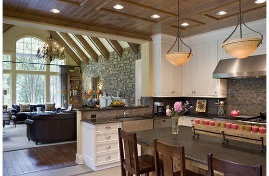 arredare una cucina e soggiorno insieme - Arredare Ambiente Unico Cucina Soggiorno
