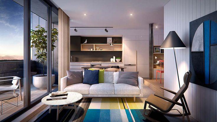 cucine soggiorno unico ambiente piccolo divisare projects ...