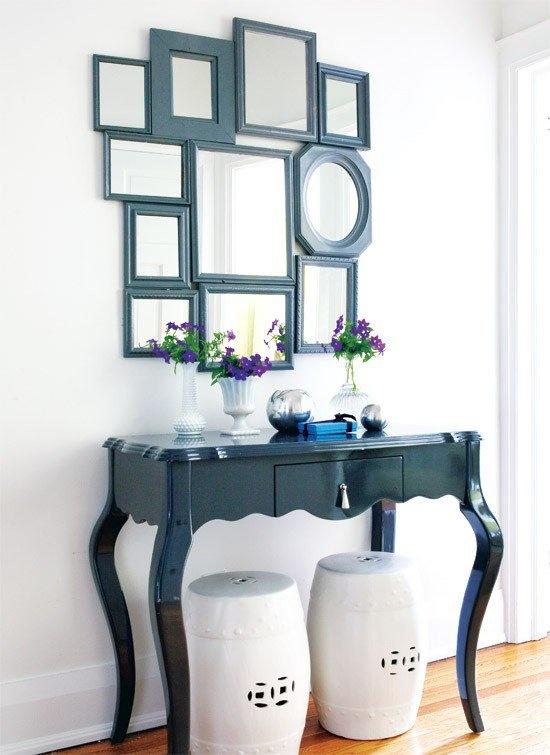 5 facili idee per decorare le pareti di casa - Specchi da decorare ...