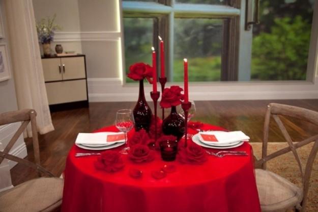Un romantico san valentino a casa - Idee tavola san valentino ...