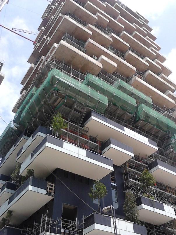 Il progetto bosco verticale a milano for Giardino verticale
