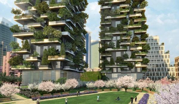 il progetto bosco verticale a milano