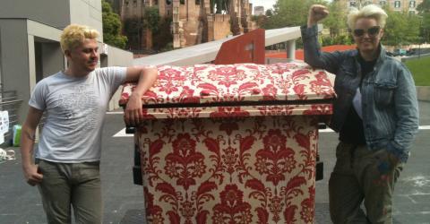 La street art contro il degrado di Roma