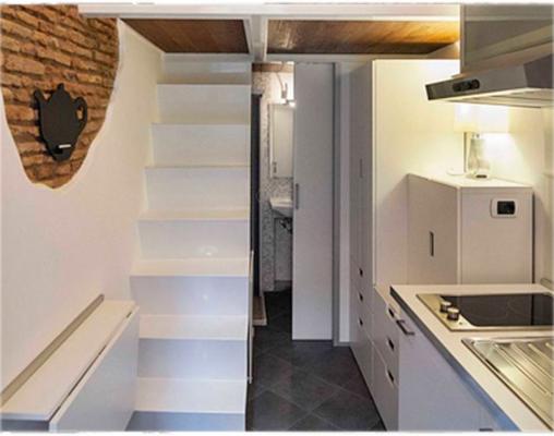 La casa più piccola del mondo è a Roma