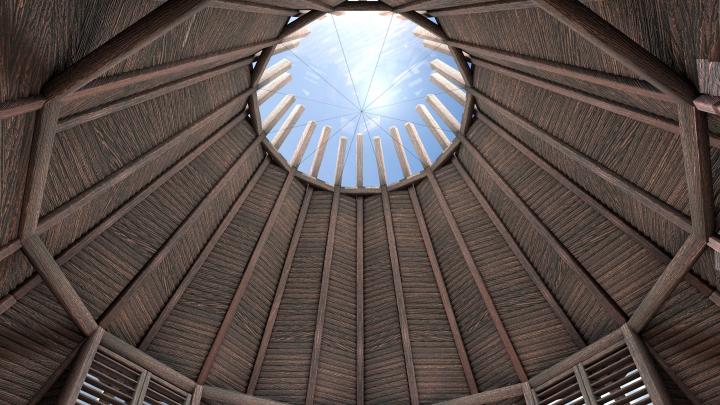 Vivere in una Teepee: la tenda The Nook