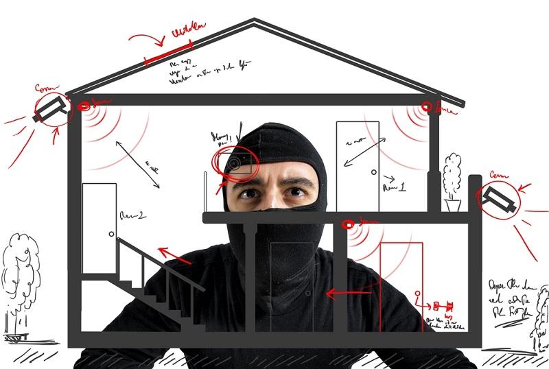 Come proteggere la casa dai furti estivi