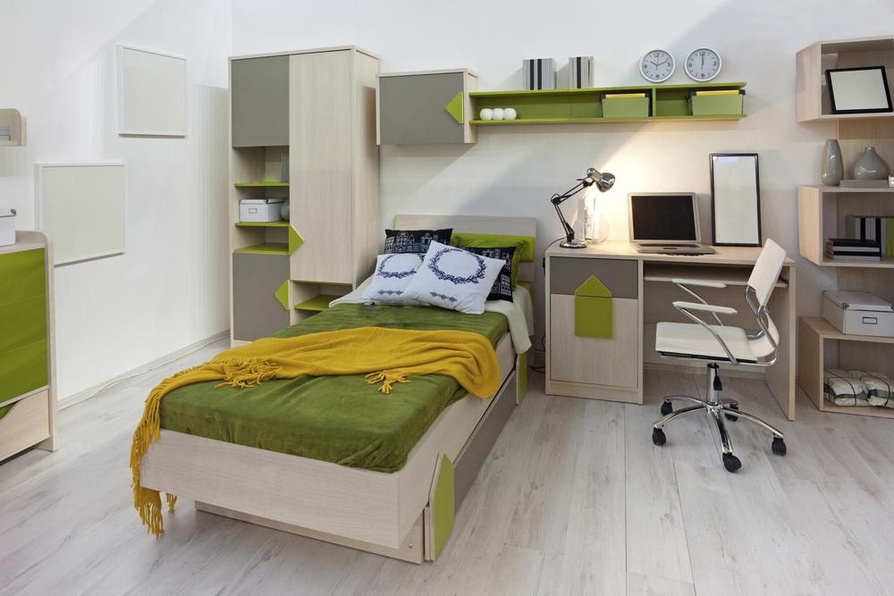 Come arredare una casa per studenti - Stanza da letto arredamento ...