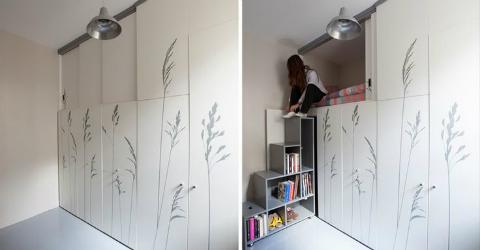 L'appartamento che si trasforma a Parigi