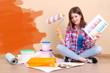Come decorare una stanza del tuo appartamento in affitto