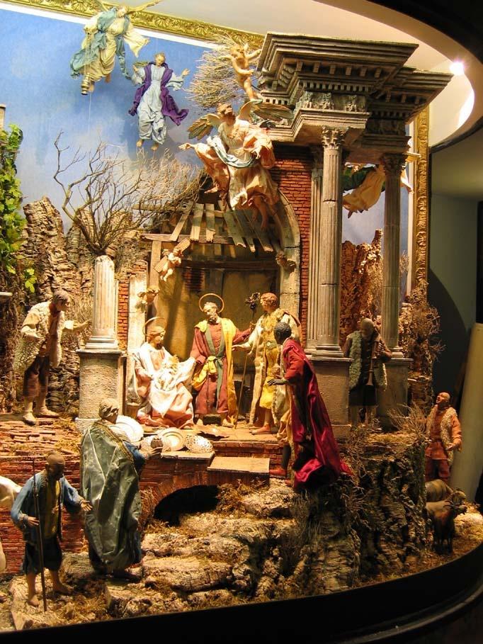I presepi di Napoli in via san Gregorio Armeno
