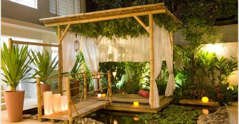 Decorare la casa con bambù è di moda