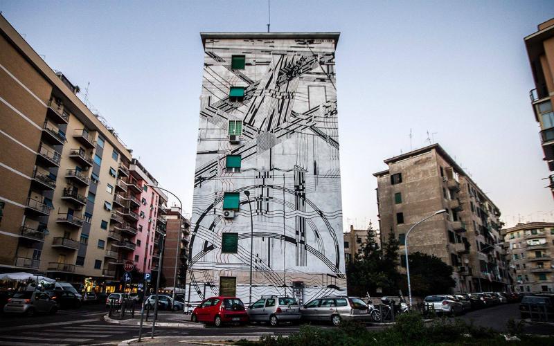 La Street art fiorisce sui muri italiani