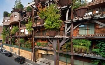 Urban Tree House: la casa albero gigante