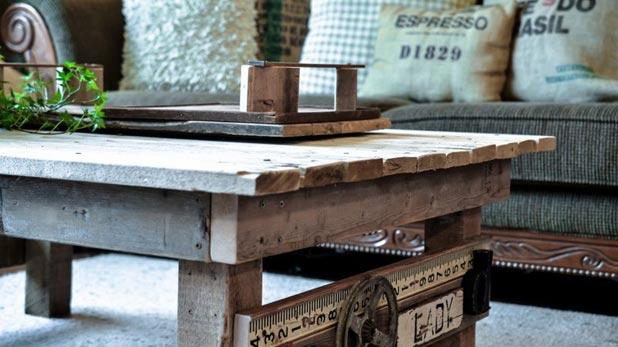 Tavolo Da Lavoro Con Bancali : Tavoli con pedane di legno elegant creazioni con bancali di legno