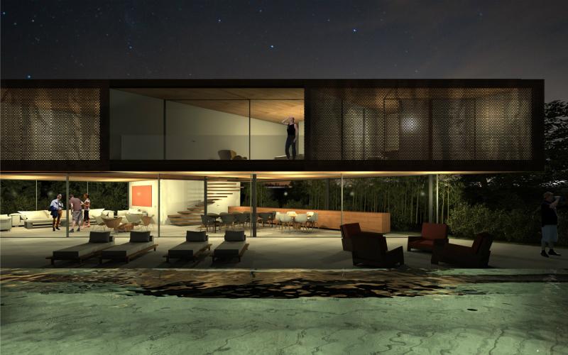 La casa sospesa sull 39 amazzonia for Materiali da costruzione della casa
