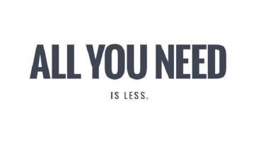 Less is more: arredamento minimal