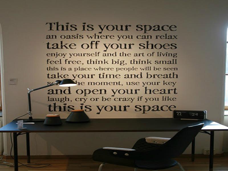Pareti spoglie... via libera alla creatività