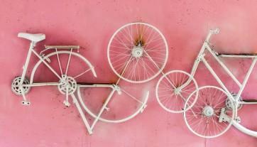 Decorare la casa con le biciclette