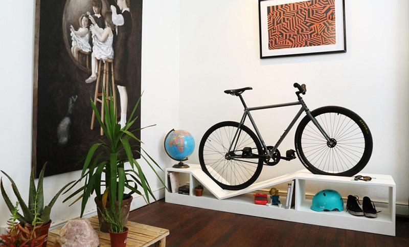 Decorare la casa con le biciclette for Decorare le case