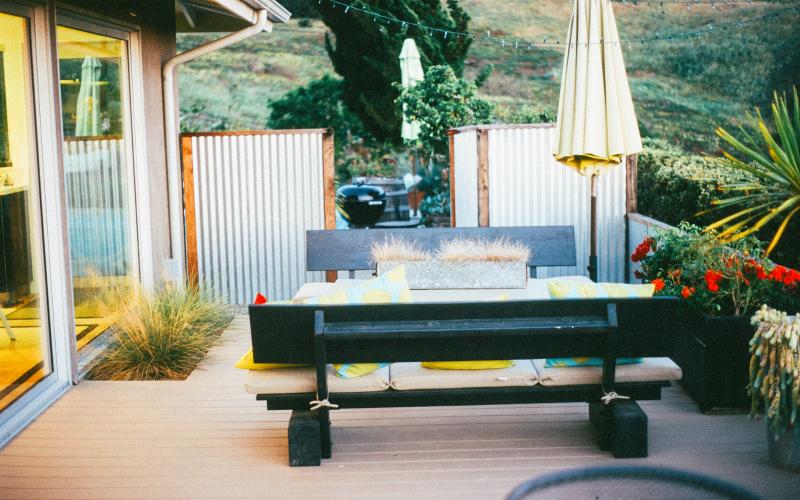 Come utilizzare la veranda in inverno