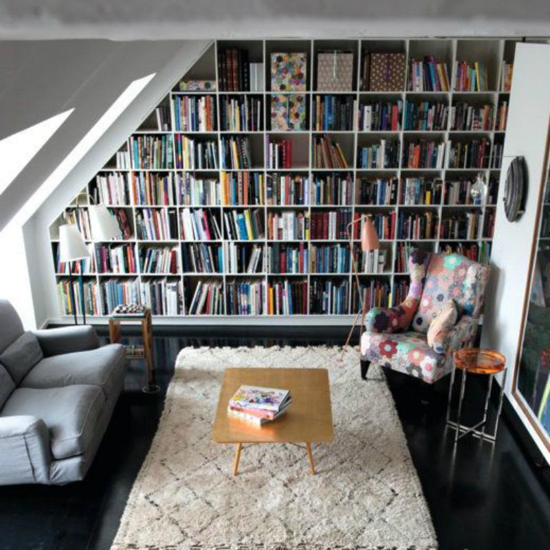 la libreria ecco come organizzarne una in casa