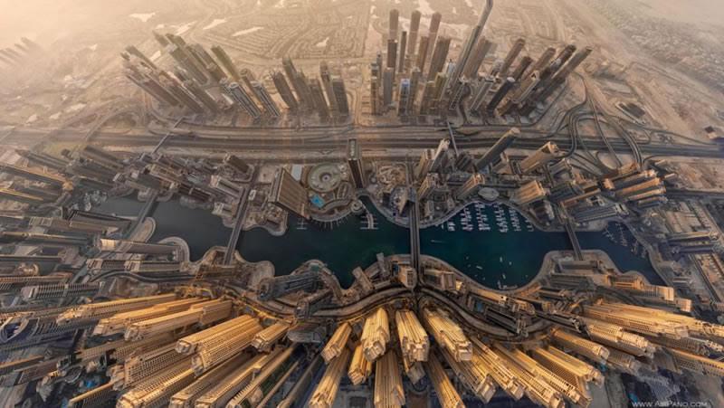 Le incredibili foto delle città viste dall' alto