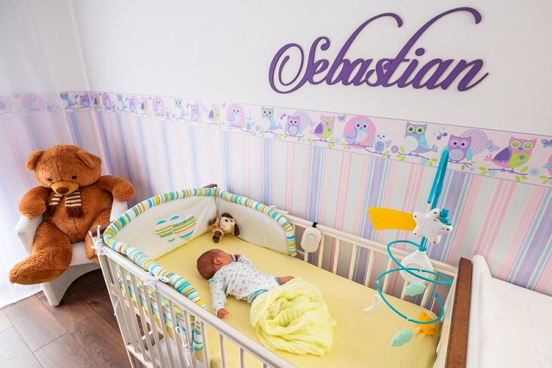 Arrivo di un bebè: ecco come preparare la cameretta