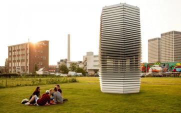 La torre che pulisce lo smog
