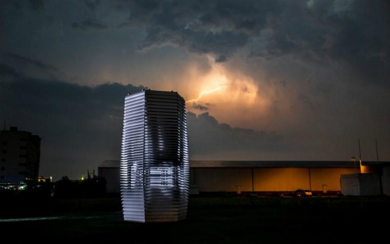 La torre che elimina lo smog