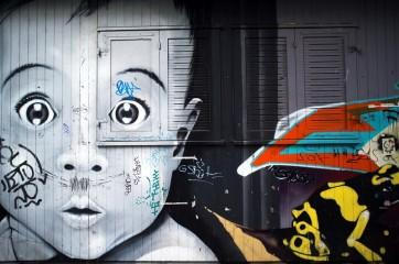 Graffiti: reato meno grave se il muro era già sporco