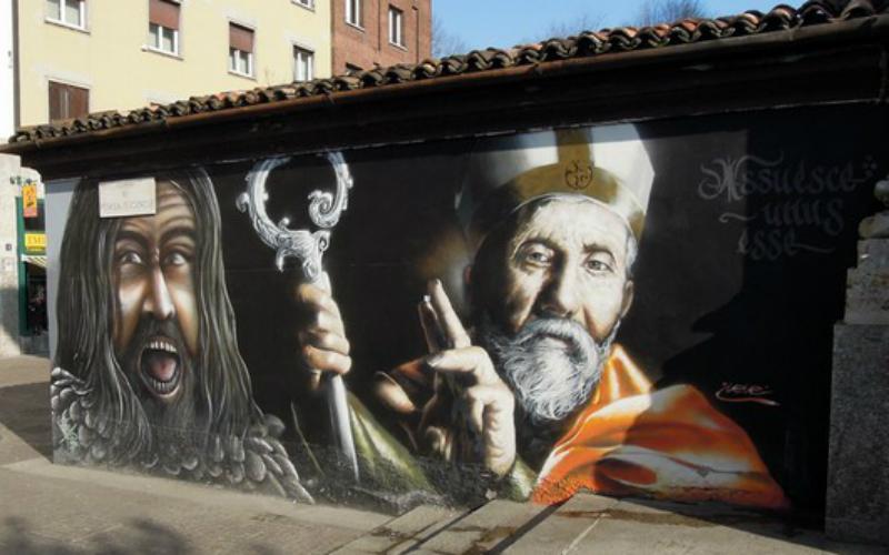Milano culla di un Rinascimento dell' arte urbana