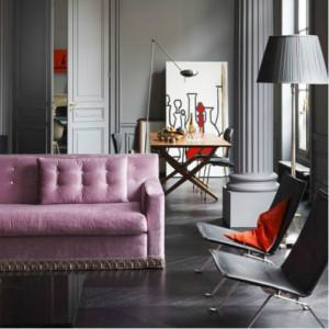 Grigio il colore di tendenza in casa - Quali colori per dipingere casa ...