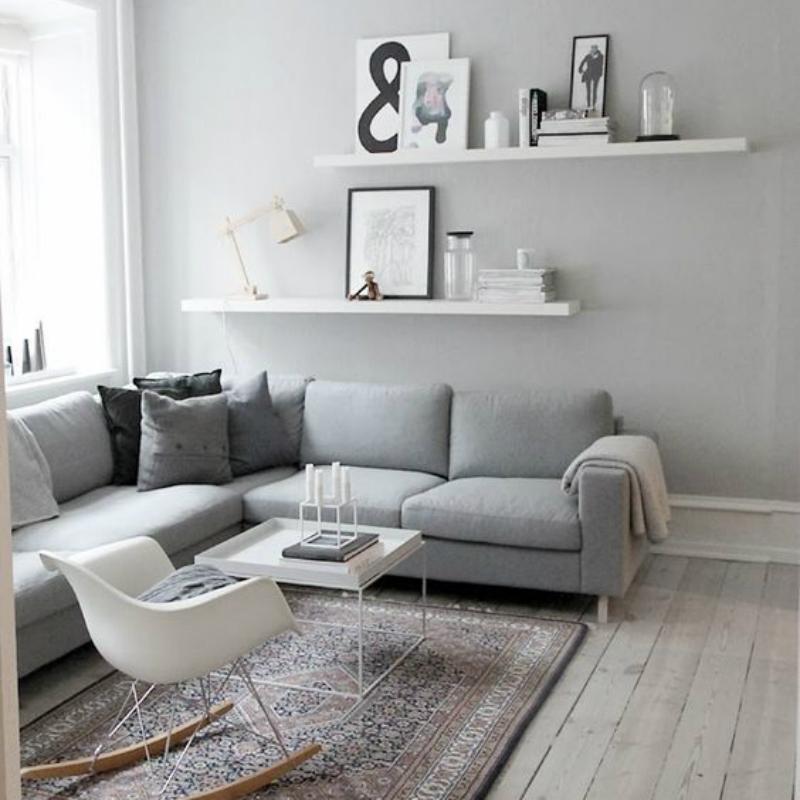 Pareti Grigio Perlato : Colore grigio per pareti rs regardsdefemmes