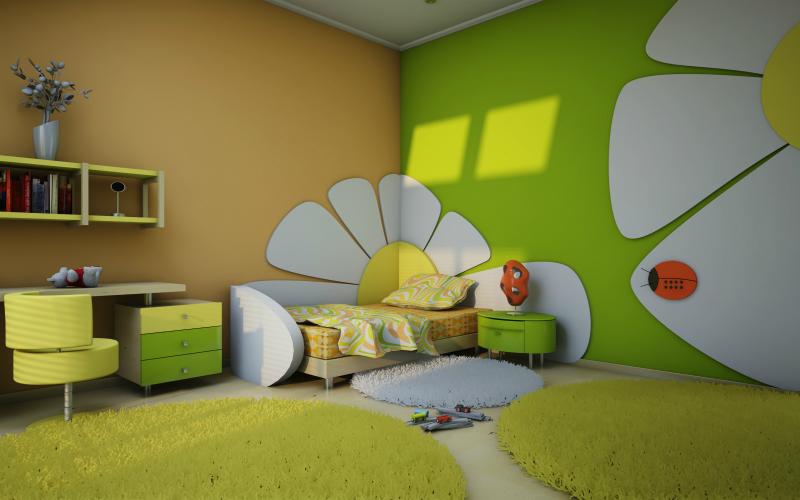 Fabulous come decorare la cameretta dei vostri bambini for Decorare una stanza per bambini