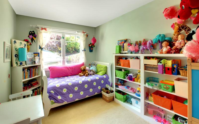 decorare la cameretta dei bambini senza spendere una fortuna