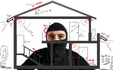 Da dove entrano i ladri nelle nostre case