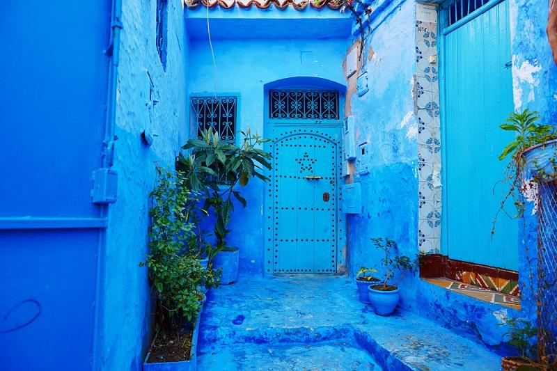 Chefchaouen, la città azzurra in Marocco