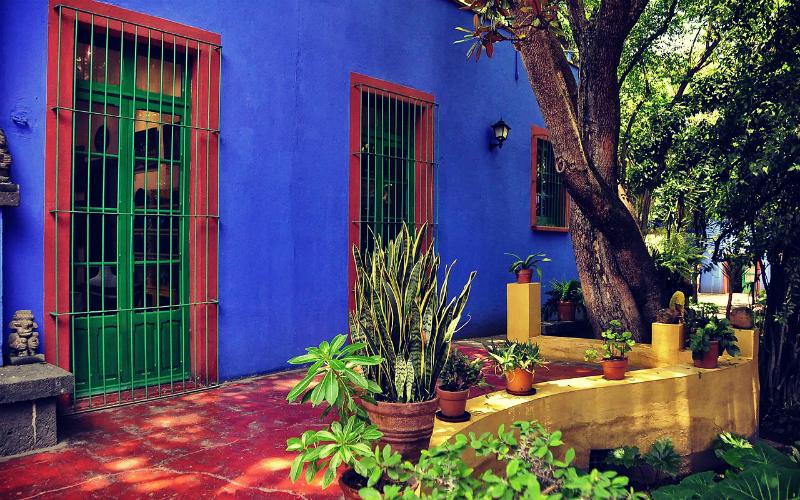 La tua casa con lo stile di Frida Kahlo