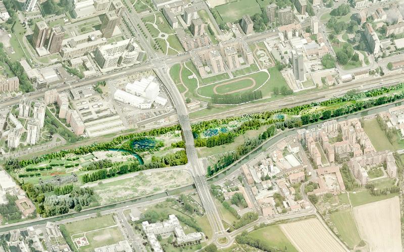 Rotaie Verdi La nuova proposta di mega parco a Milano
