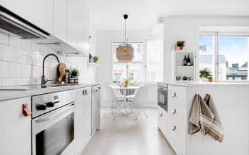 Un appartamento di 38 mq pieno di glamour