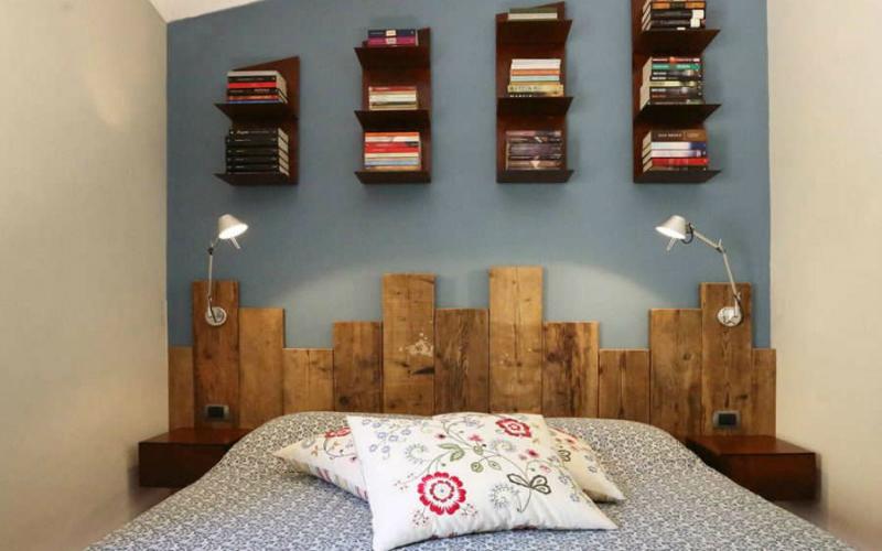 Come rinnovare la testiera del letto il blog di - Testiera letto in legno ...