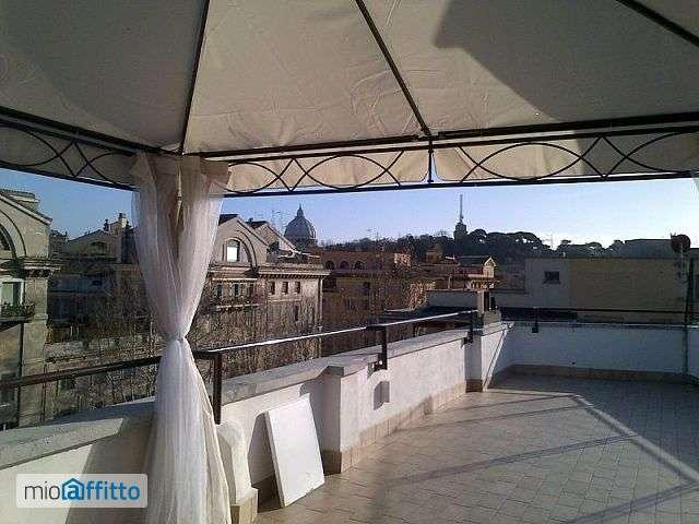 Vi piacerebbe vivere in un attico di lusso for Roma affitto prati