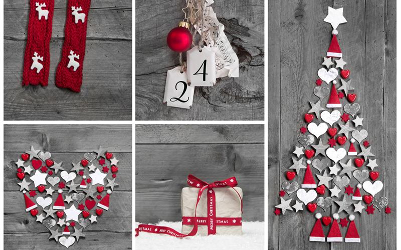 Idee natalizie per decorare appartamenti piccoli - Ideas decoracion navidad manualidades ...
