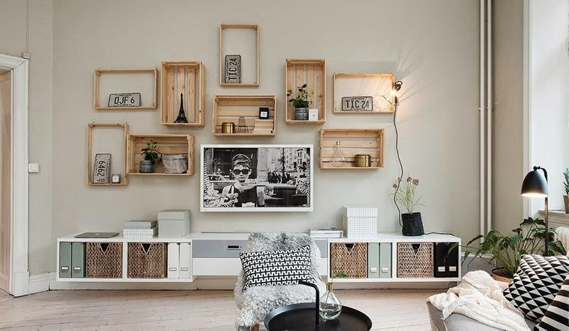 Come decorare la tua casa con delle scatole